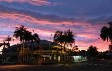 Mullumbimby Dawn by Tes Tesla. Streetscape / Landscapes – Adult