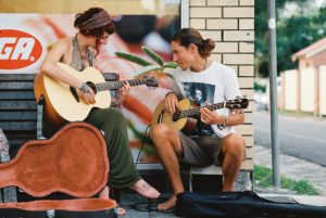 Rhythm on the Street by Gordon Pauling. Streetscape / Landscapes - Adult